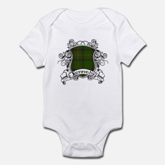 Kennedy Tartan Shield Infant Bodysuit