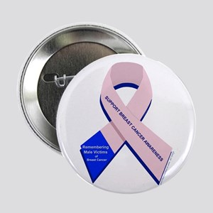 "Male Breast Cancer 2.25"" Button"