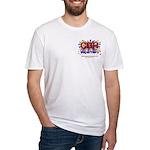 CDH Superhero Stars Logo for Boys Fitted T-Shirt