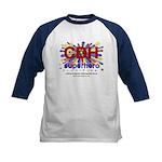 CDH Superhero Stars Logo for Boys Kids Baseball Je