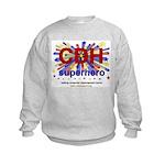 CDH Superhero Stars Logo for Boys Kids Sweatshirt