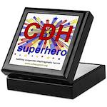 CDH Superhero Stars Logo for Boys Keepsake Box