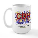 CDH Superhero Stars Logo for Boys Large Mug