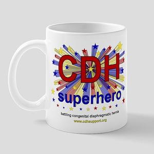 CDH Superhero Stars Logo for Boys Mug