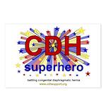 CDH Superhero Stars Logo for Boys Postcards (Packa