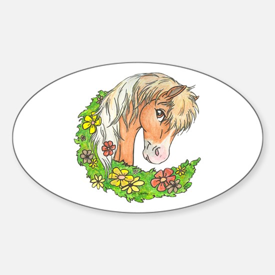 Spring Pinto Oval Decal