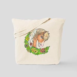 Spring Pinto Tote Bag