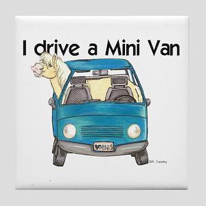 P Mini Van Tile Coaster