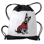 Scottish Terrier Drawstring Bag