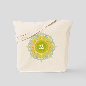 Om Mandala Tote Bag