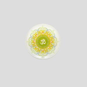 Om Mandala Mini Button