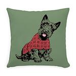 Scottish Terrier Everyday Pillow