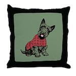 Scottish Terrier Throw Pillow