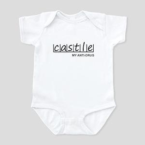 """Castle Anti-Drug"" Infant Bodysuit"