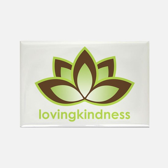 Loving Kindness Rectangle Magnet