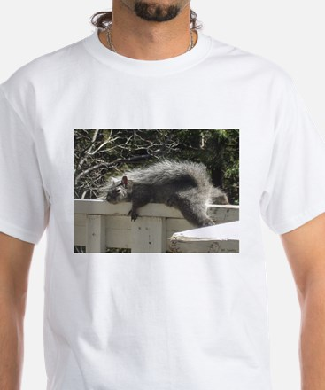 Bum Squirrel White T-Shirt