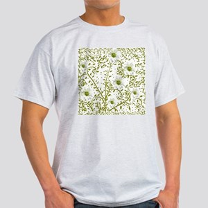 Pop Art Tatoo Daisy Grn Bckgr Light T-Shirt