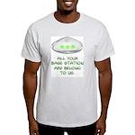 AYBS Ash Grey T-Shirt