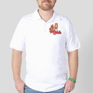 Mini Foal w/butterflies Golf Shirt