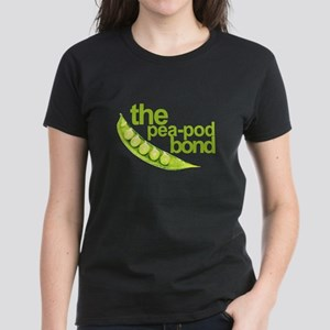 """Pea-Pod Bond"" Women's Dark T-Shirt"