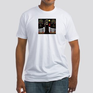 Pop Art Porch Entry Way Fitted T-Shirt