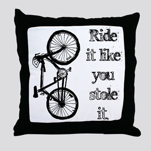 Ride It Throw Pillow