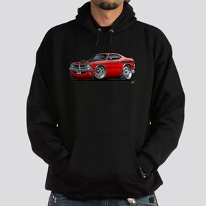 Dodge Demon Red Car Hoodie (dark)