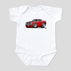 Dodge Demon Red Car Infant Bodysuit