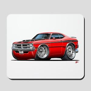 Dodge Demon Red Car Mousepad