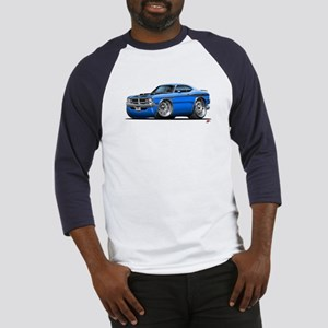 Dodge Demon Blue Car Baseball Jersey