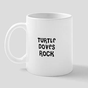 TURTLE DOVES ROCK Mug