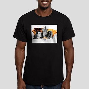 MI RAZA WOMEN WITH BORIKEN Men's Fitted T-Shirt (d