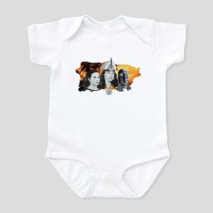 MI RAZA WOMEN WITH BORIKEN Infant Bodysuit