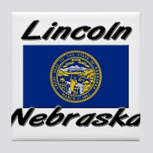 Lincoln Nebraska Tile Coaster