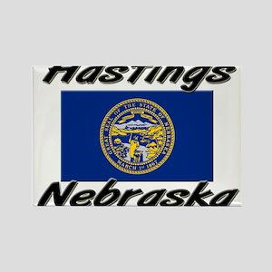 Hastings Nebraska Rectangle Magnet