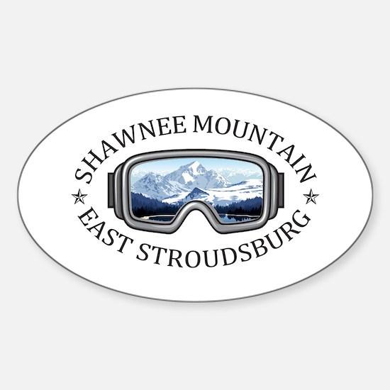 Shawnee Mountain Ski Area - East Strouds Decal