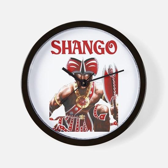 NEW!!! SHANGO CLOSE-UP Wall Clock
