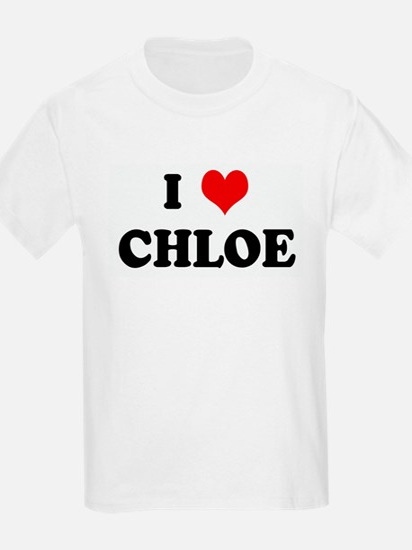 I Love CHLOE T-Shirt