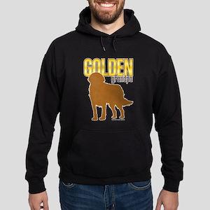 Golden Grandpa Hoodie (dark)