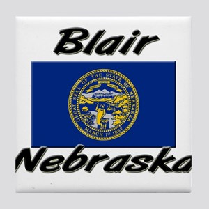 Blair Nebraska Tile Coaster