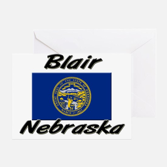 Blair Nebraska Greeting Card