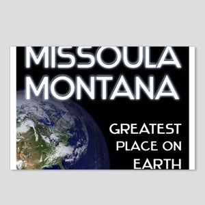 missoula montana - greatest place on earth Postcar