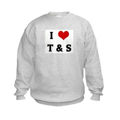 I Love T & S Sweatshirt