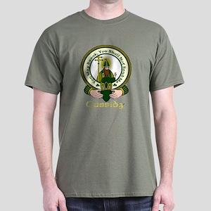 Cassidy Clan Motto Dark T-Shirt