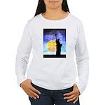 Majestic Lady Liberty Long Sleeve T-Shirt