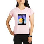 Majestic Lady Liberty Performance Dry T-Shirt