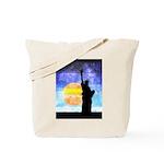 Majestic Lady Liberty Tote Bag
