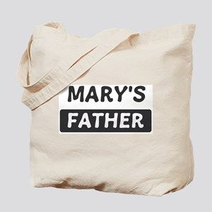 Marys Father Tote Bag