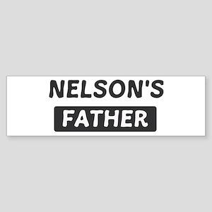 Nelsons Father Bumper Sticker
