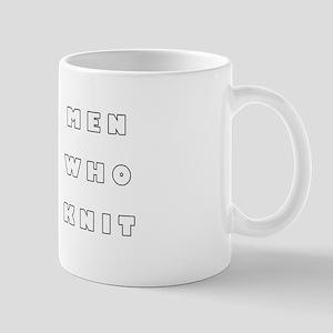 Men Who Knit Mug